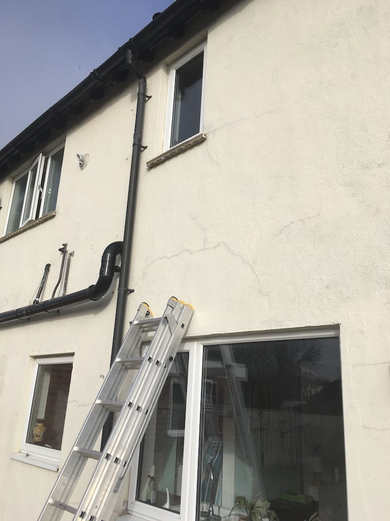 Worcester UK external house painting
