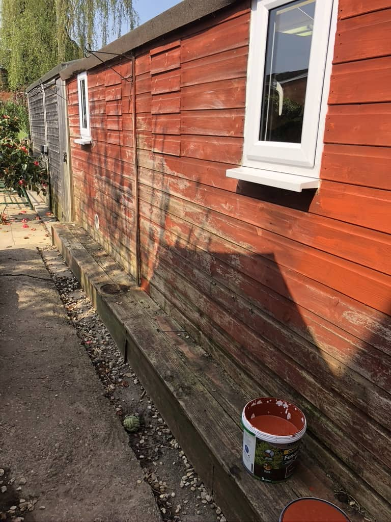 Shed Painting 4
